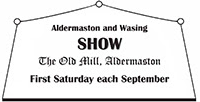 Aldermaston and Wasing Show Charity of the year 2017, 2018, 2019
